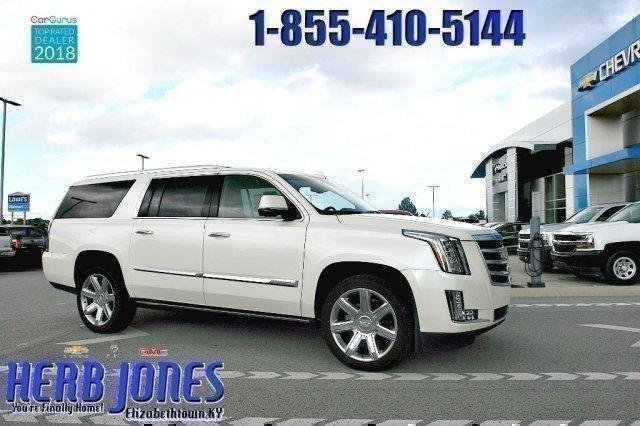 Pre Owned 2017 Cadillac Escalade Esv Premium With Navigation 4wd Herb Jones Chevrolet Buick Gmc